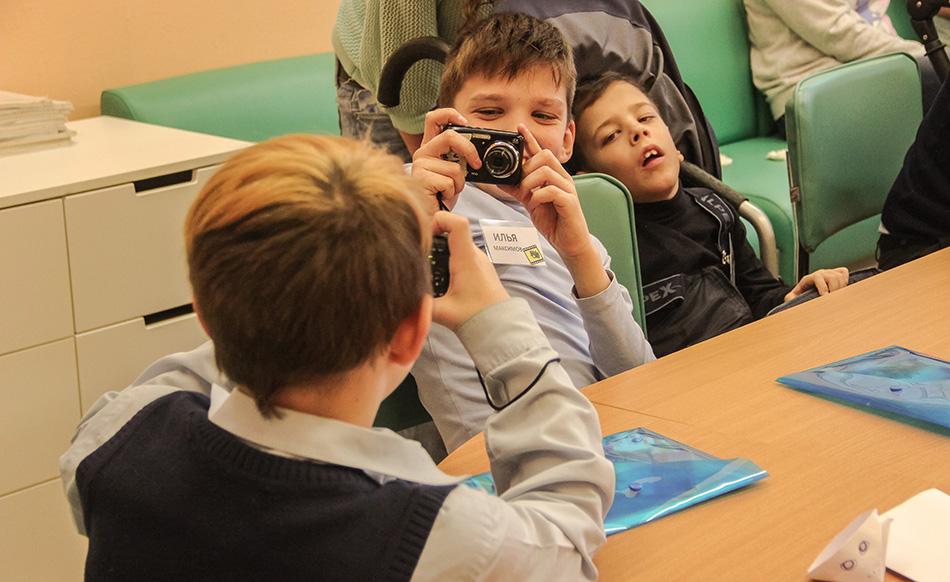 Фотомастерская для школьников