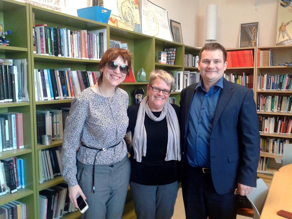 Специализированная библиотека по вопросам инклюзии в Государственном университете Сан-Франциско