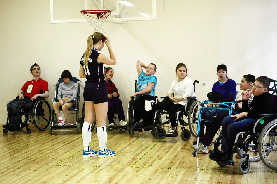 Детям – о паралимпийском спорте