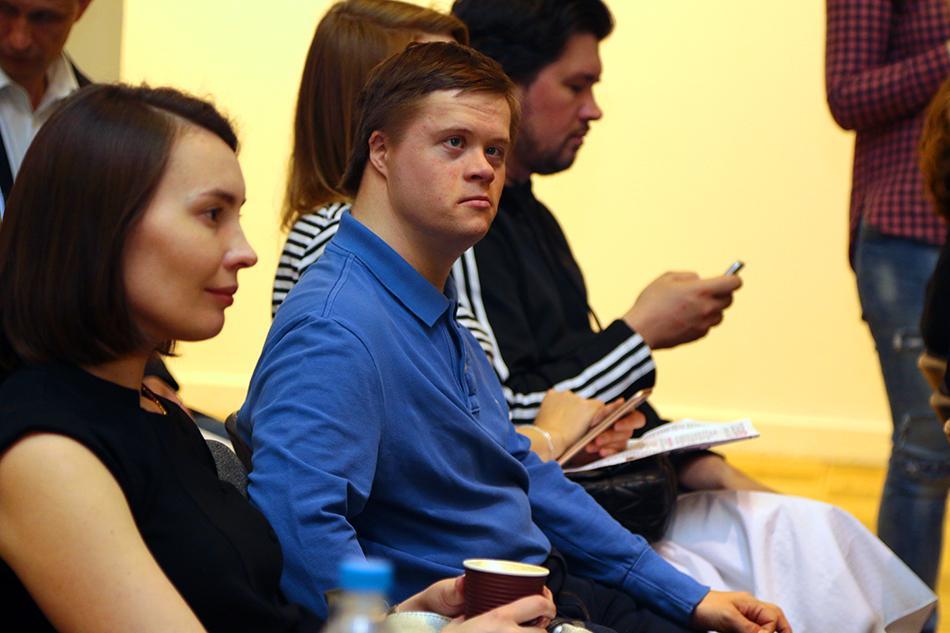 Слушатели лекции Фестиваля по  Универсальному дизайну