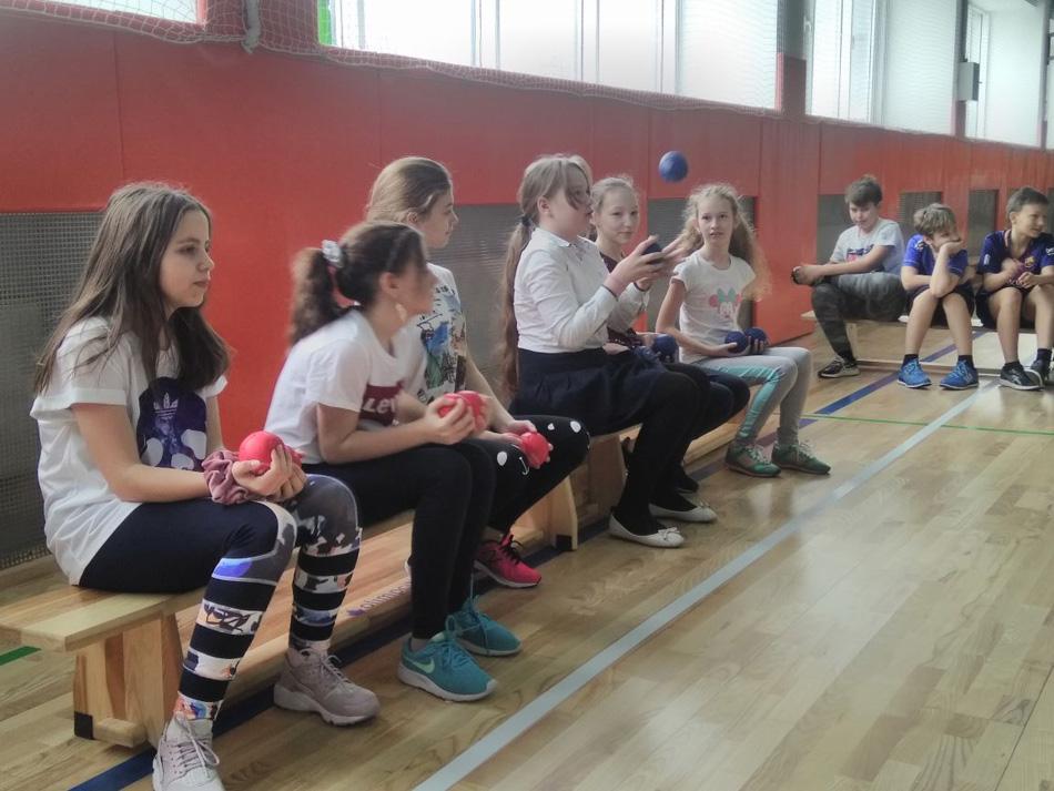 Что такое голбол и бочча, узнали пятиклассники Куркино