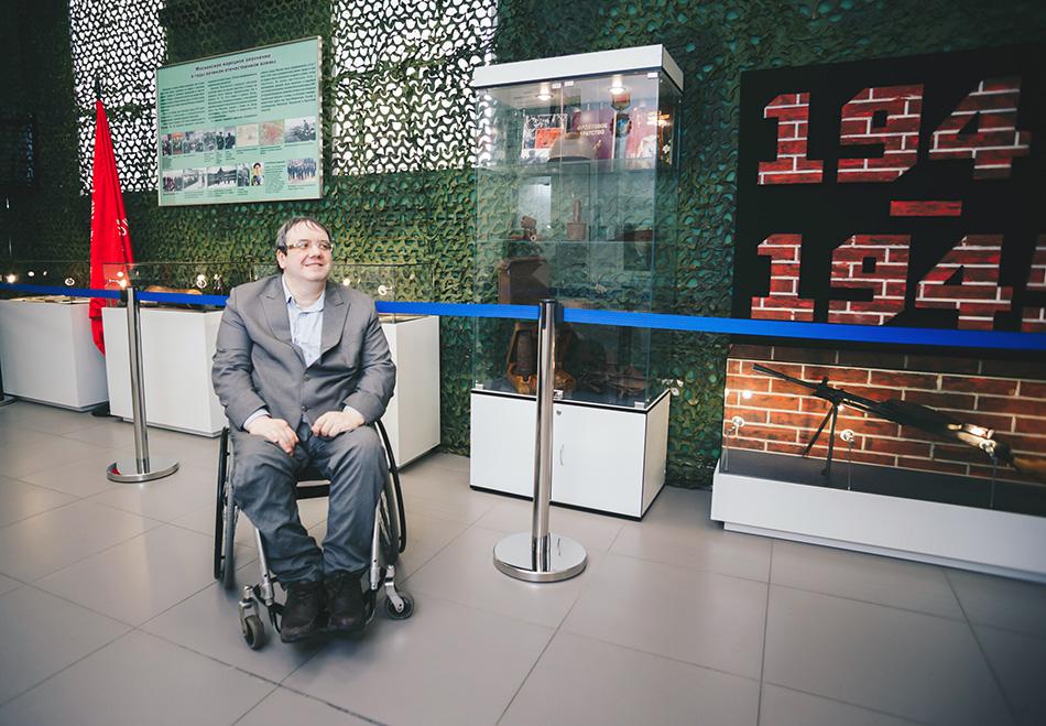 Михаил Новиков, руководитель отдела по трудоустройству РООИ «Перспектива»
