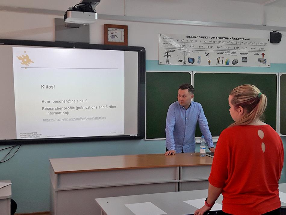 Генри Песонен рассказал о финской практике инклюзии в двух московских школах