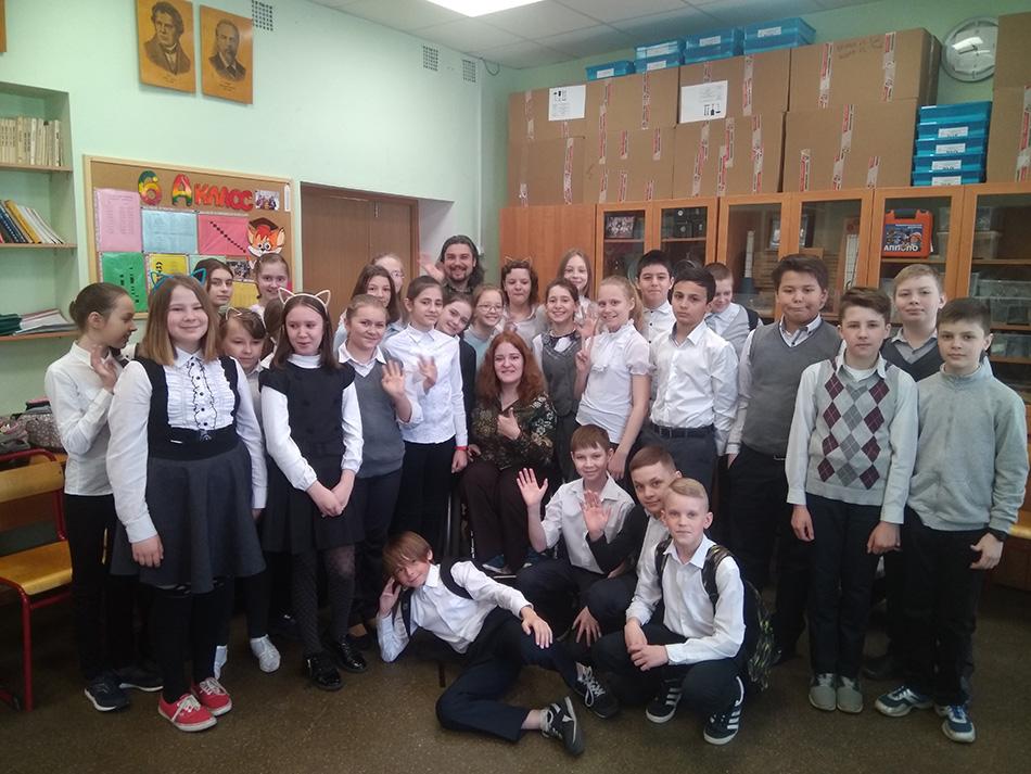 Ученики школы № 22 приняли участие в уроках по пониманию инвалидности