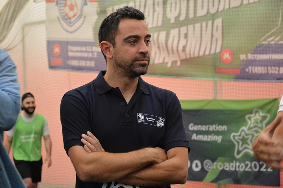 Футбол с легендой «Барселоны»