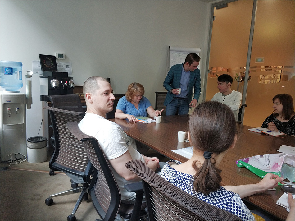 Участники проекта «Карьерные перспективы» прошли очередной тренинг
