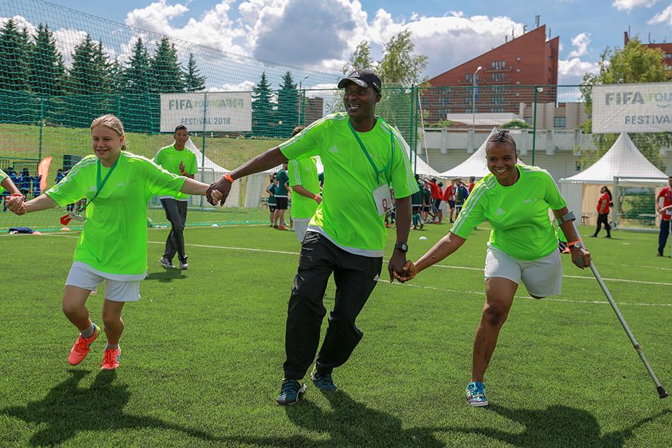 Спортивный фестиваль в Химках