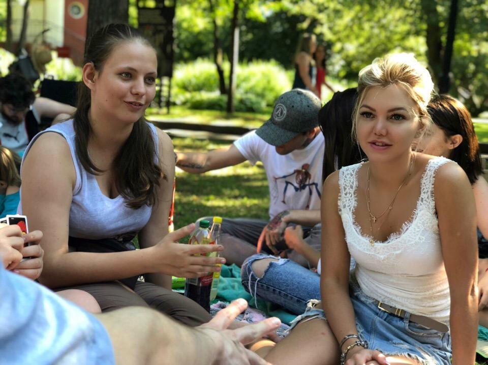 Встреча в парке Горького