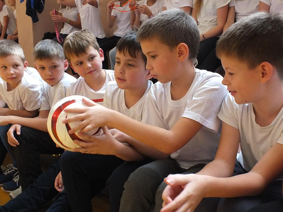 Новый учебный год начался по-футбольному!
