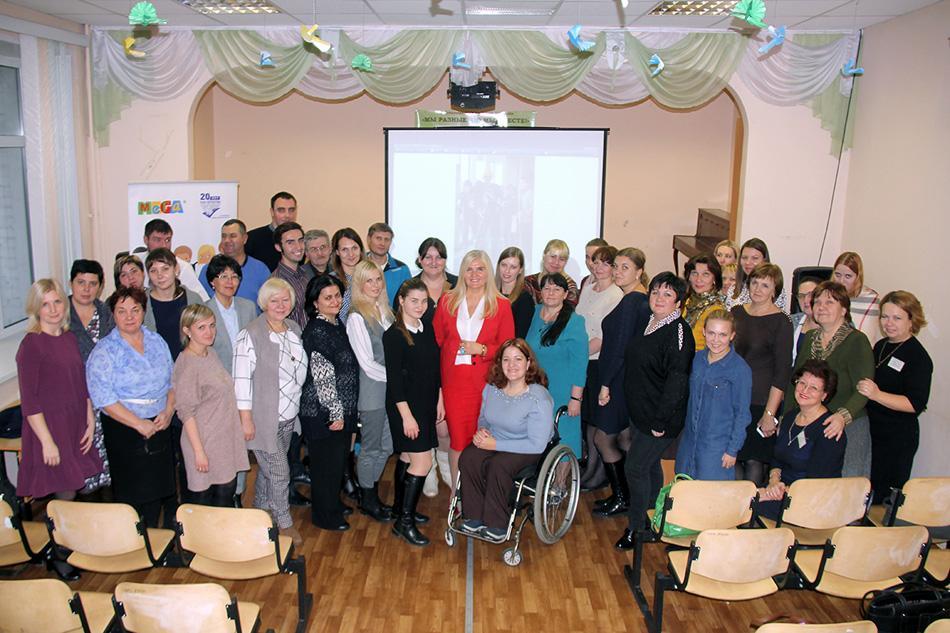 Встреча педагогов с экспертом из Латвии Айвией Барда