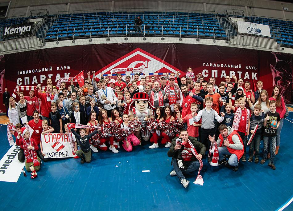 «Спартак» против «Пермских медведей» – финальный матч по гандболу