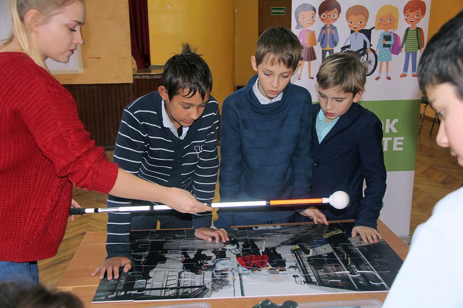 В Химках прошел День Инклюзии для учащихся 6-ого класса