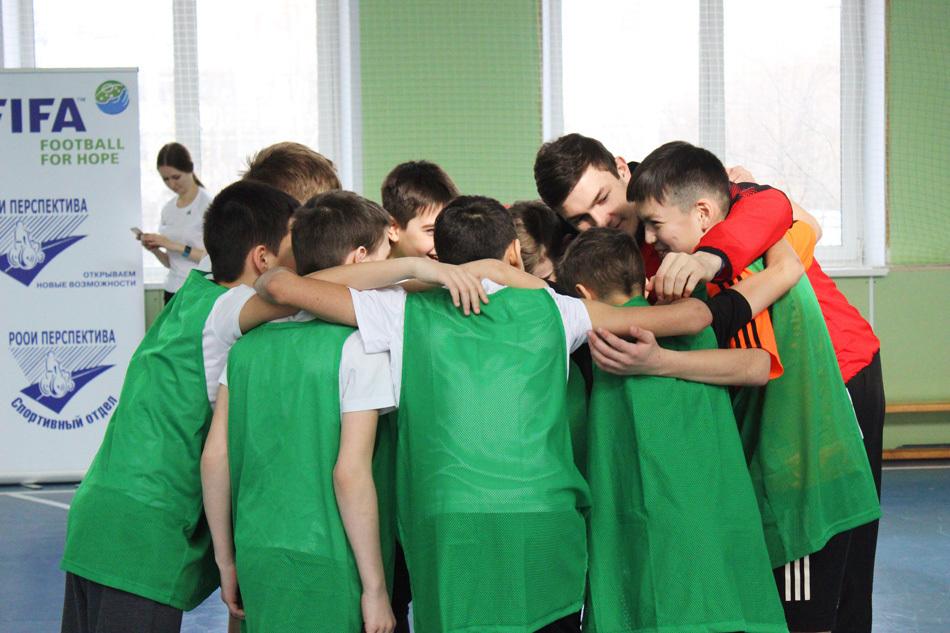Встреча с футбольным клубом «Химки»