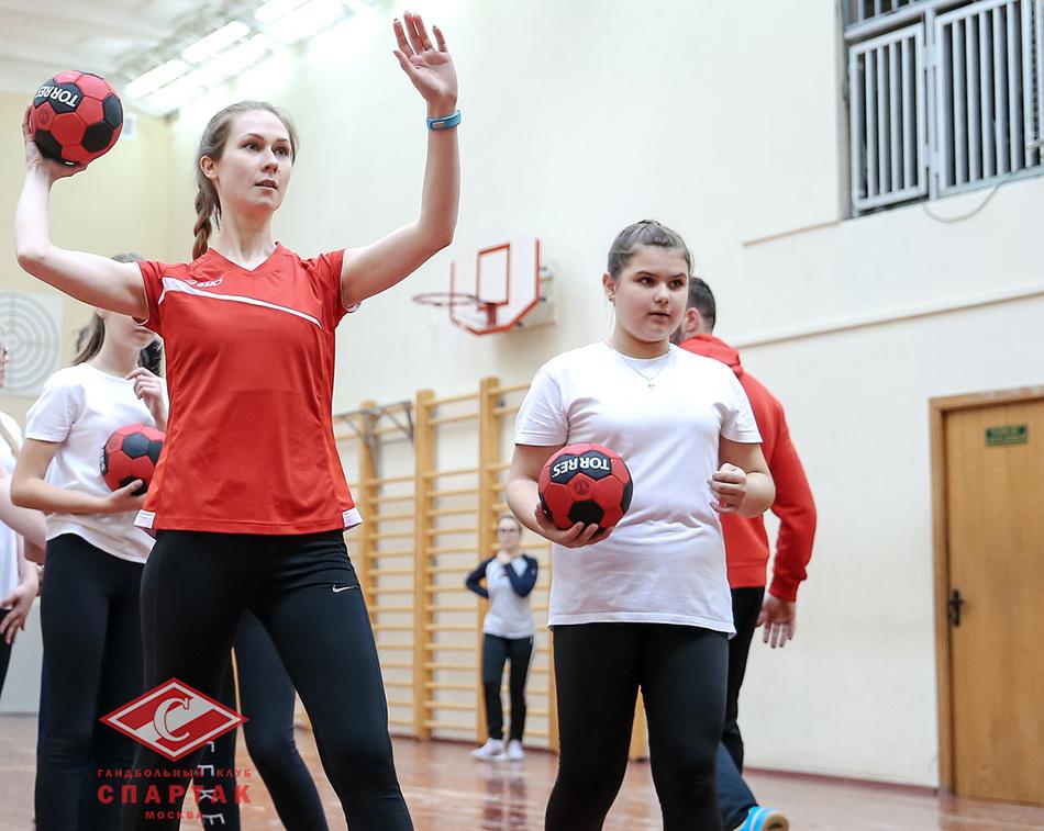 Мастер-класс по гандболу в Перово