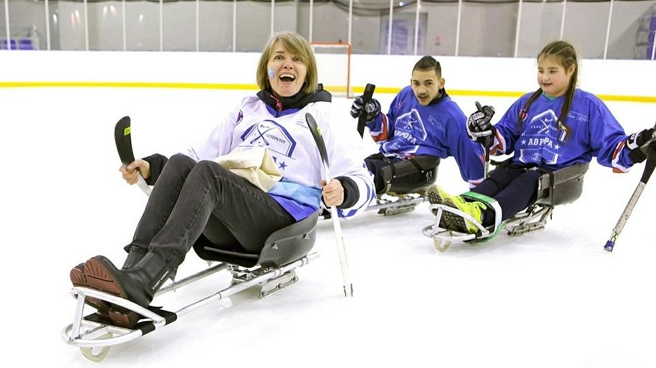 Детская следж-хоккейная лига