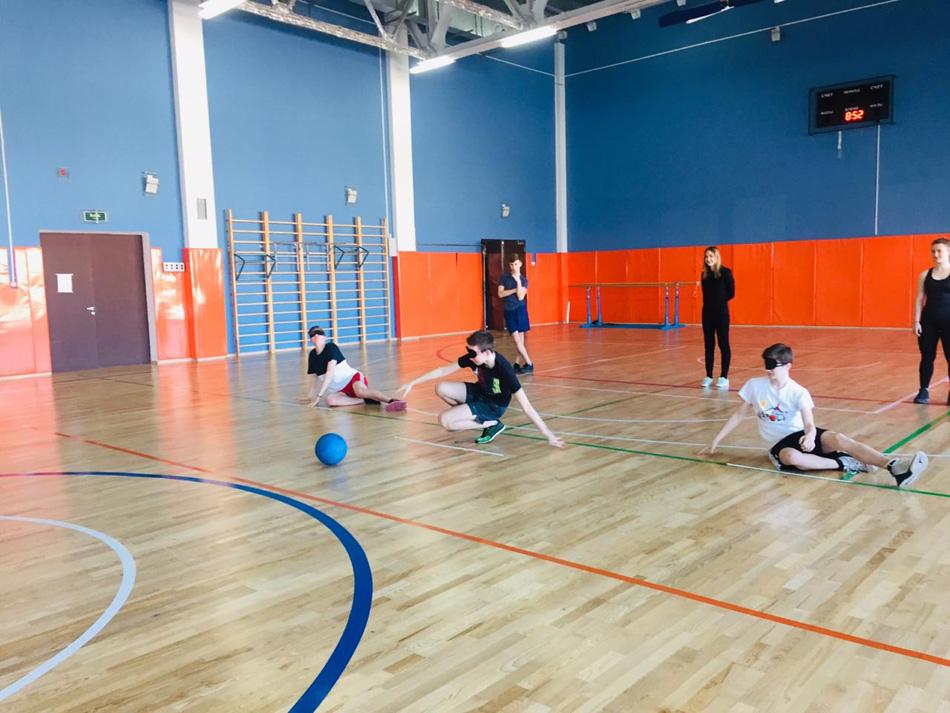 Голбол в школе №1298