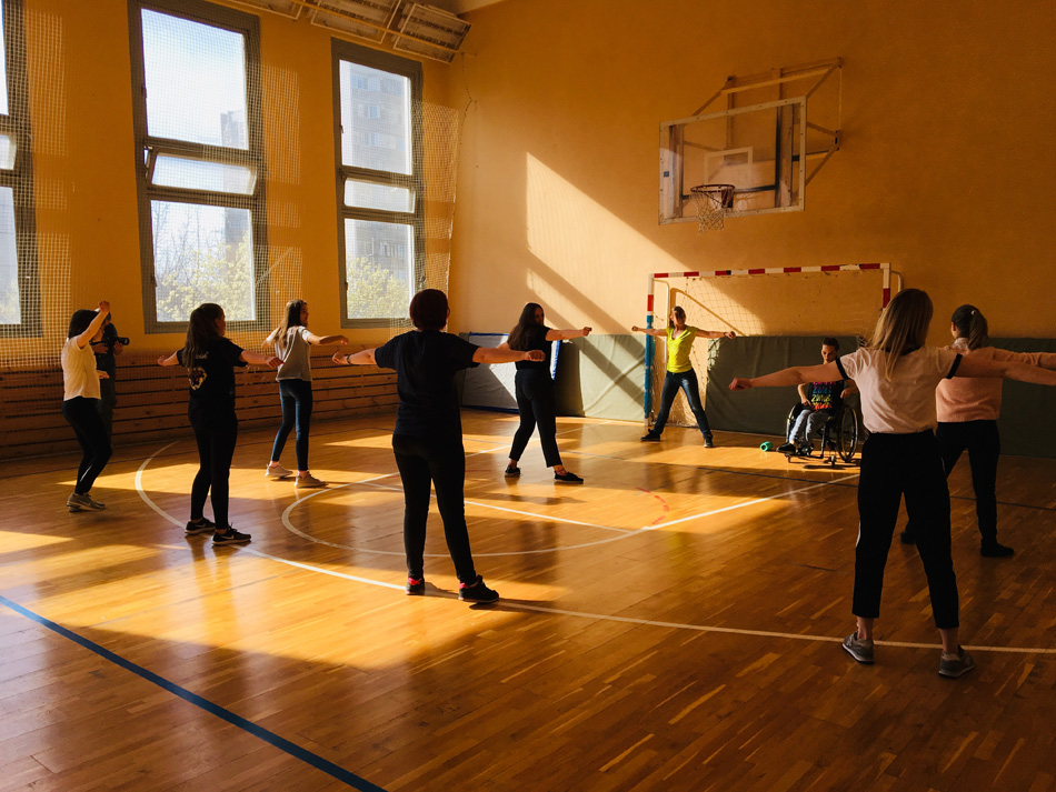 Мастер-класс по фитнесу