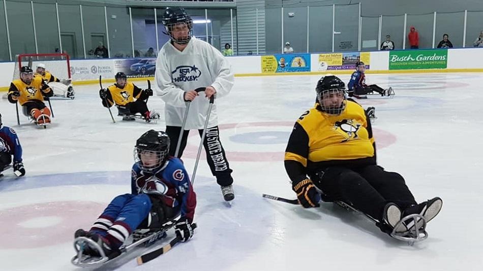 фотография с сайта Детской следж-хоккейной лиги