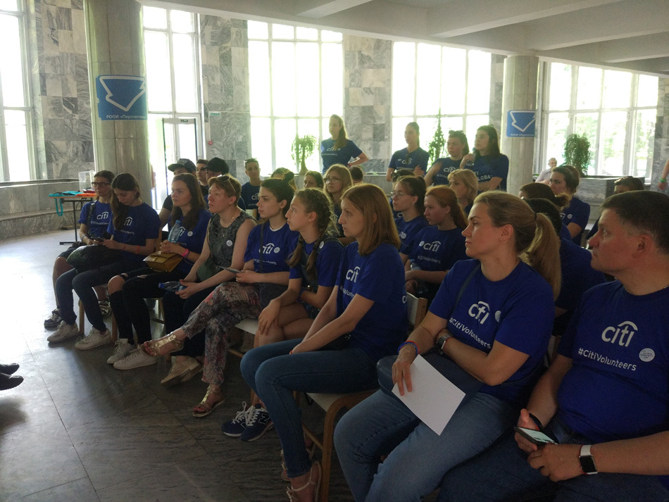 Международный день волонтера Citi