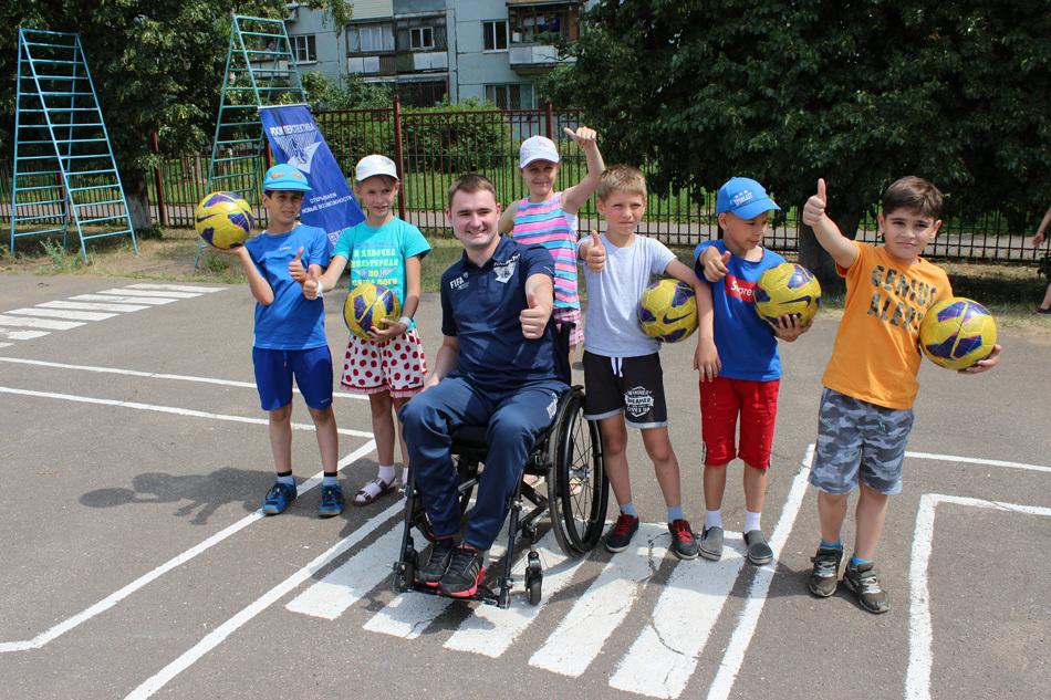 Фестиваль футбола в Люберцах