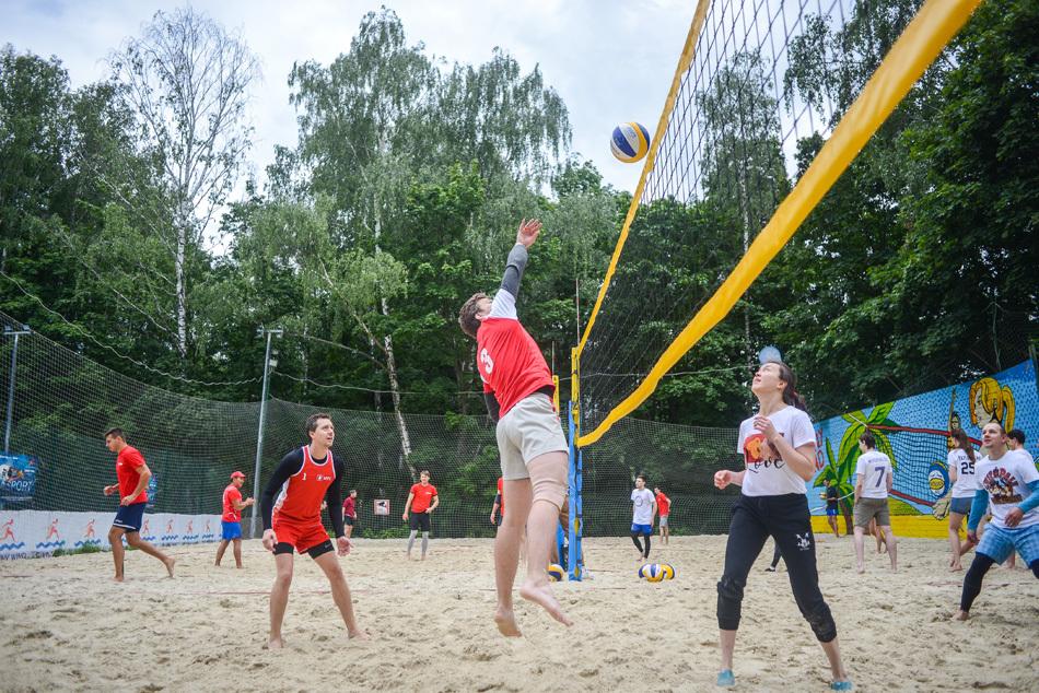 VI благотворительный турнир по пляжному волейболу в Сокольниках