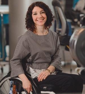 Ксения Овсянникова, заслуженный мастер спорта по паралимпийскому фехтованию