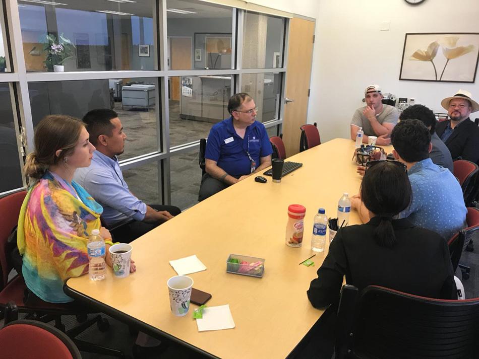 Открытый мир: обмен опытом с коллегами из Америки