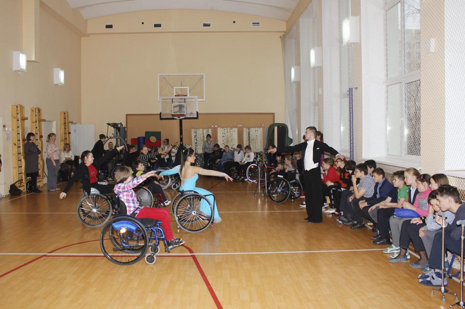 Танцы на колясках для спортсменов «Перспективы»