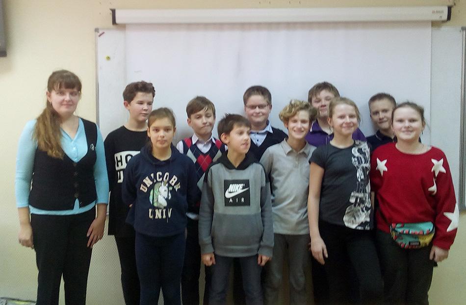 И снова приятная встреча: в школе №518 прошли Уроки доброты