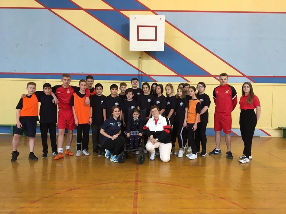 Футбольный мастер-класс от Сборной