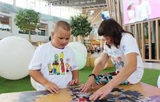 В Мега Химки прошел день инклюзии для детей и взрослых