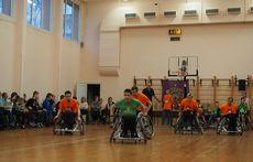 В Санкт-Петербурге состоялись соревнования по баскетболу на колясках