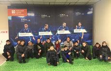 В Петербурге школьники побывали на «Газпром Арене»