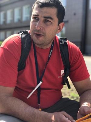 Алексей Волков, методист, педагог дополнительного образования ГБОУ Балтийский берег