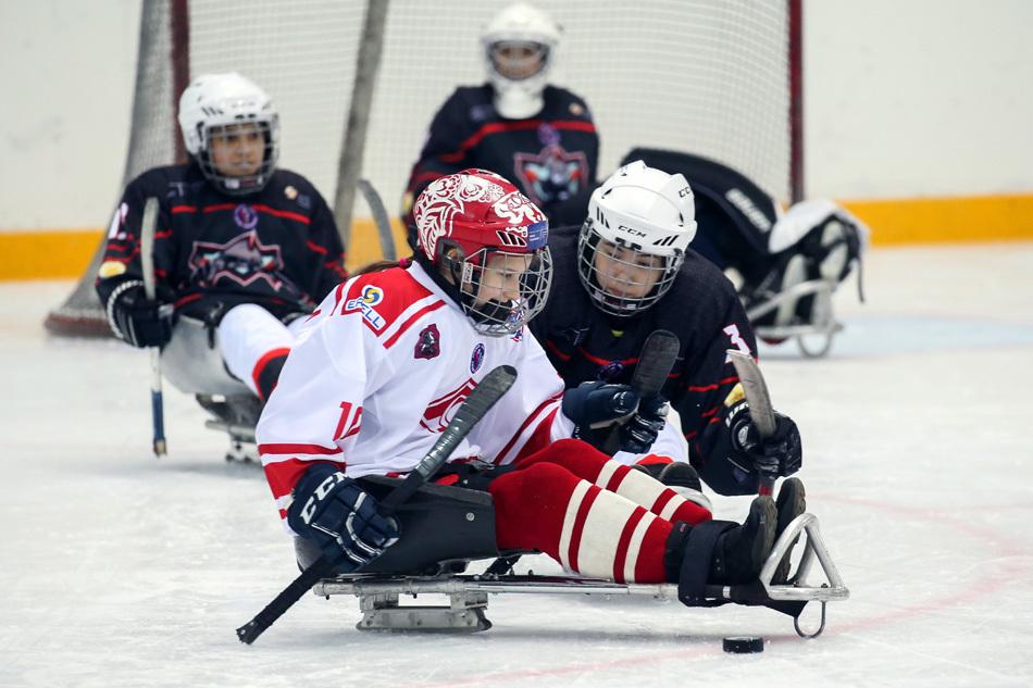 Дружба и командный дух: как Настя научилась играть в следж-хоккей
