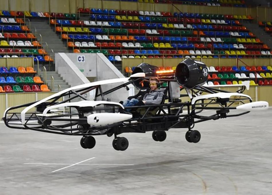 Как выглядит беспилотное аэротакси? Фото: Департамент предпринимательства и инновационного развития города Москвы